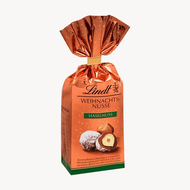 Lindt лешник в шоколадова обвивка 100 g