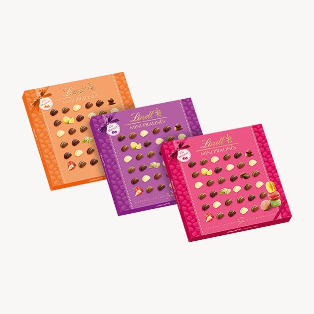 Lindt Macarons шоколадови бонбони 145 g