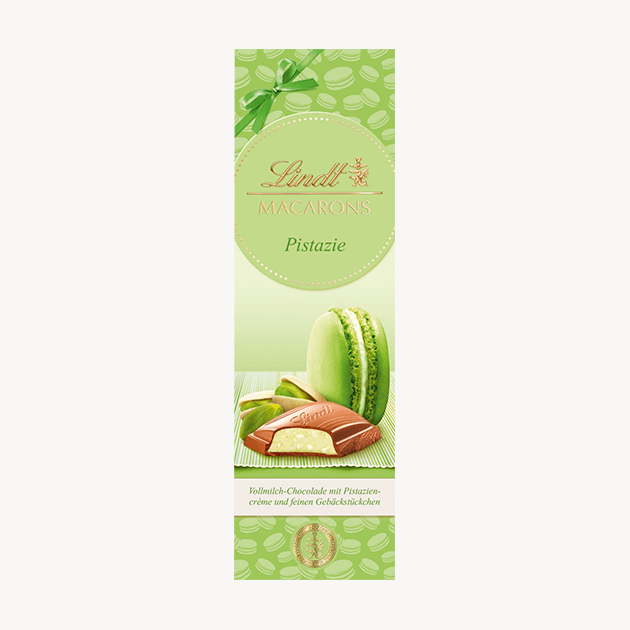 Lindt Macarons шоколад шам-фъстък 100 g