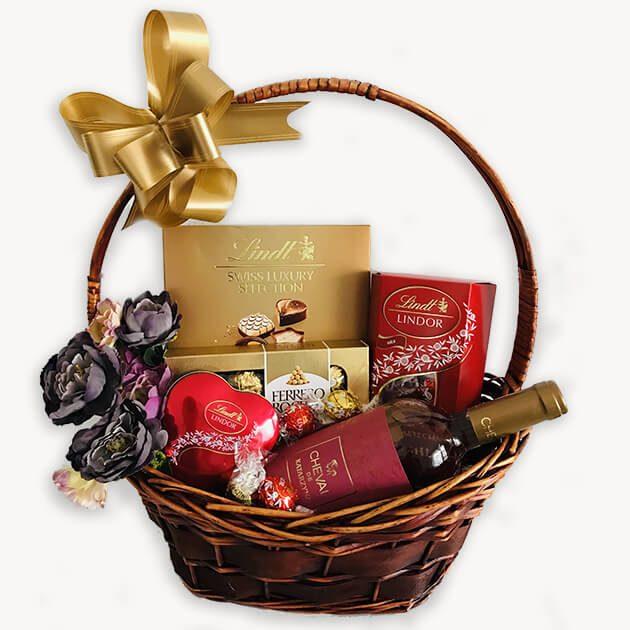 Подаръчни Кошници За Свети Валентин – 128
