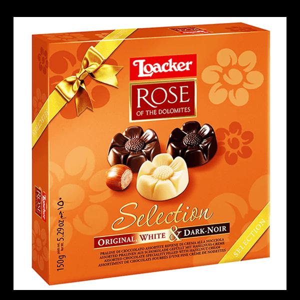 Бонбони Loacker Rose Асорти 150 g