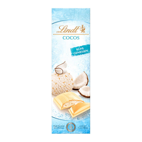 Бял шоколад Lindt с кокос 100 г