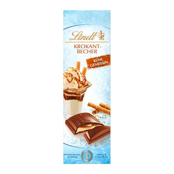 Млечен шоколад Lindt с парченца крокан 100 г