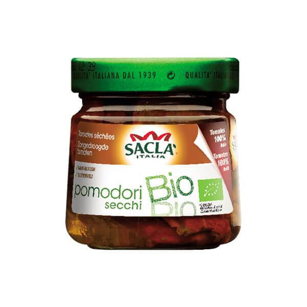 Сакла БИО Изсушени на слънце домати в слънчогледово олио без Глутен 190г