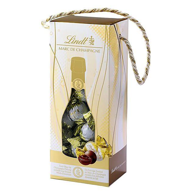 Lindor Коледна бонбониера Marc de Champagne 350 g