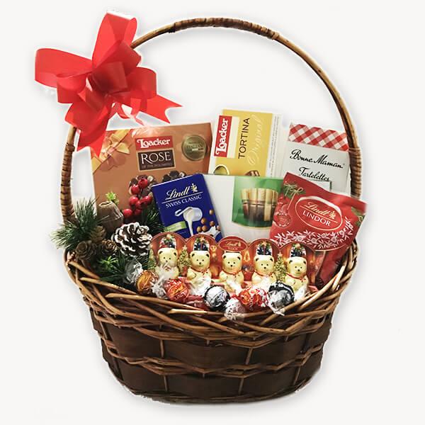 Коледна подаръчна кошница 191