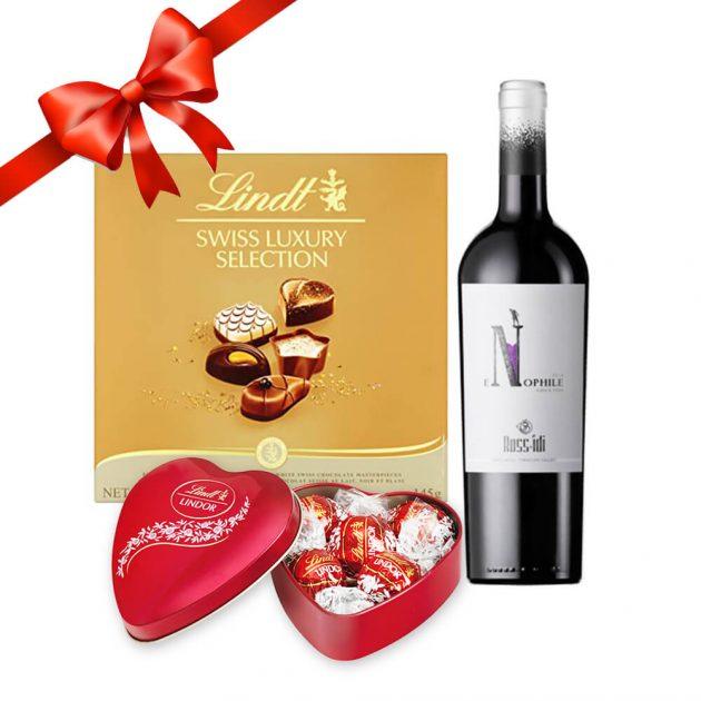 Подаръчeн комплект за св. валентин 132