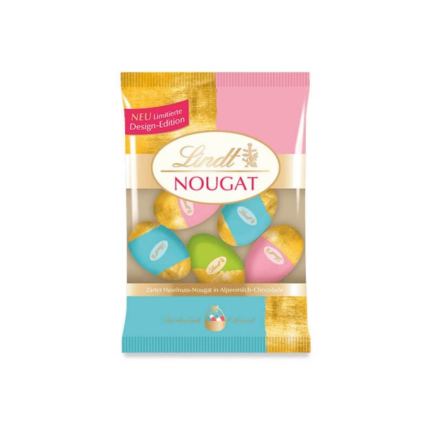 Lindt великденски шоколадови яйца нуга 100 г