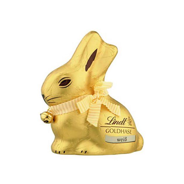 Lindt великденски заек бял шоколад 100 г